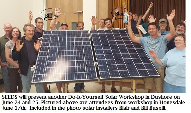 2015 DIY Solar Attendees  - Honesdale