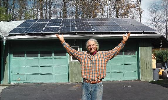 Martin Springhetti DIY Solar panels  - small image